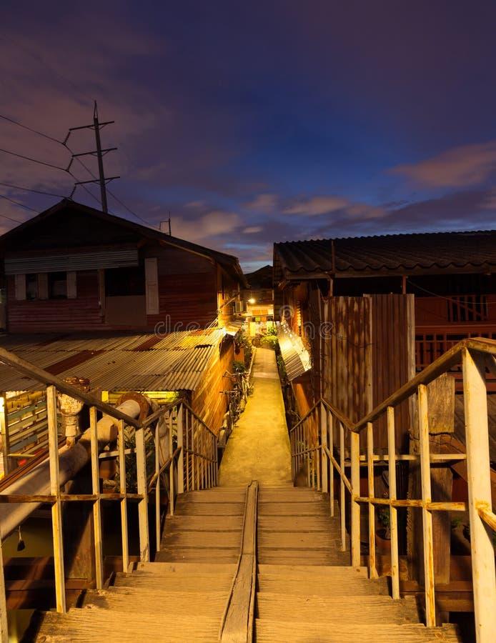 Alte Stadt in Thailand lizenzfreie stockfotos
