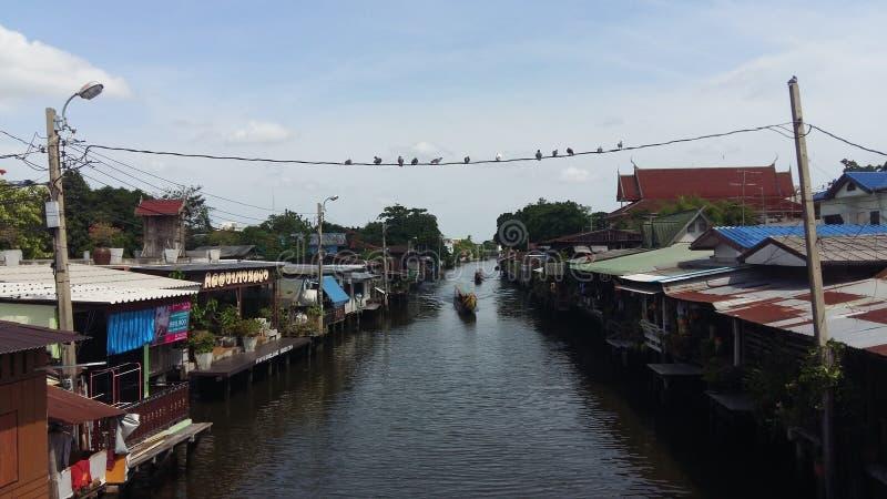 Alte Stadt von Bangkok lizenzfreie stockbilder