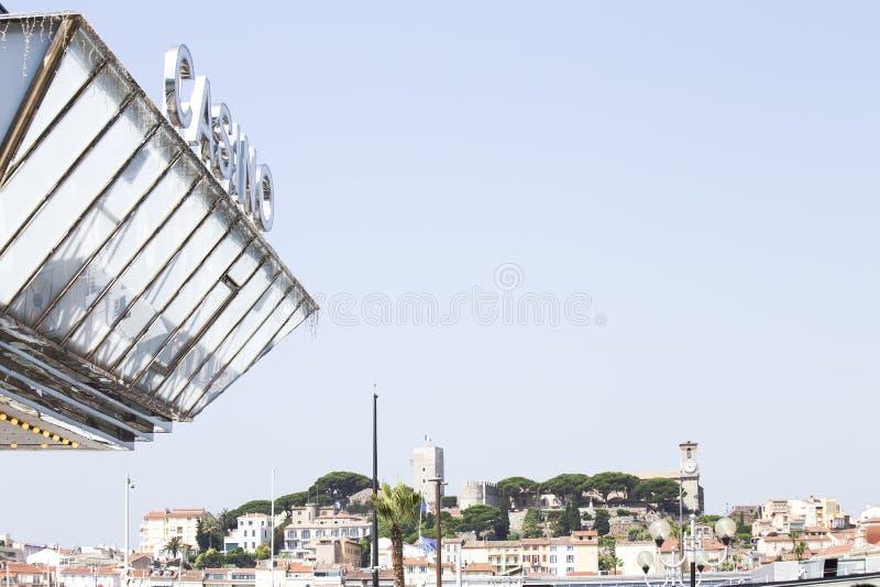 Alte Stadt von Cannes stockfoto
