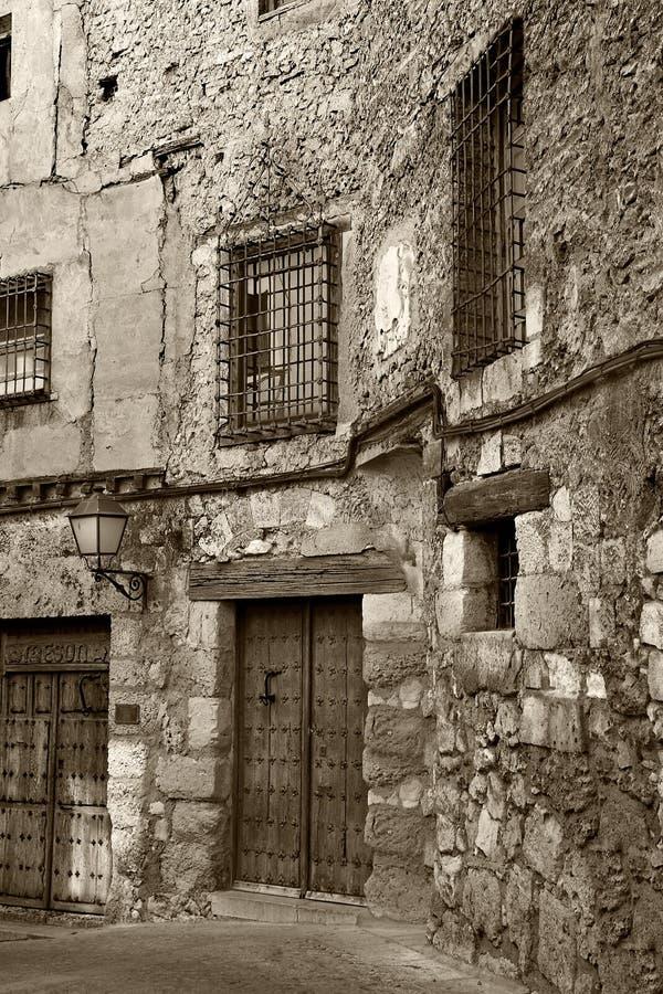 Alte Stadt von Cuenca (Spanien) lizenzfreie stockbilder