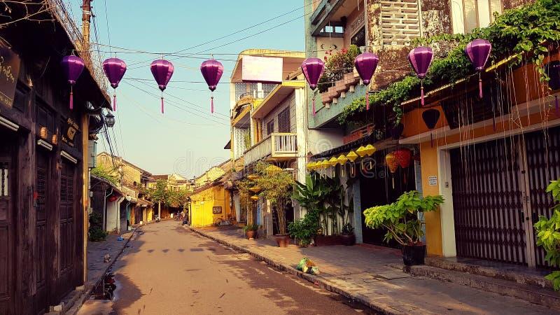 Alte Stadt von Hoi An lizenzfreie stockbilder