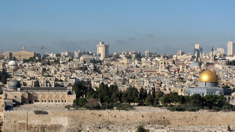 Alte Stadt von Jerusalem, Israel lizenzfreie stockfotos