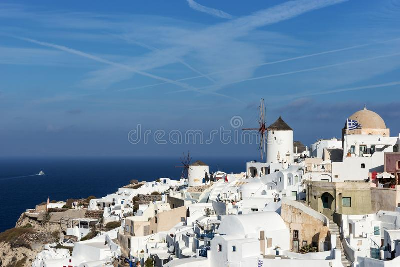 Download Alte Stadt Von Oia Auf Der Insel Santorini Redaktionelles Stockfoto - Bild von schön, malerisch: 106800698