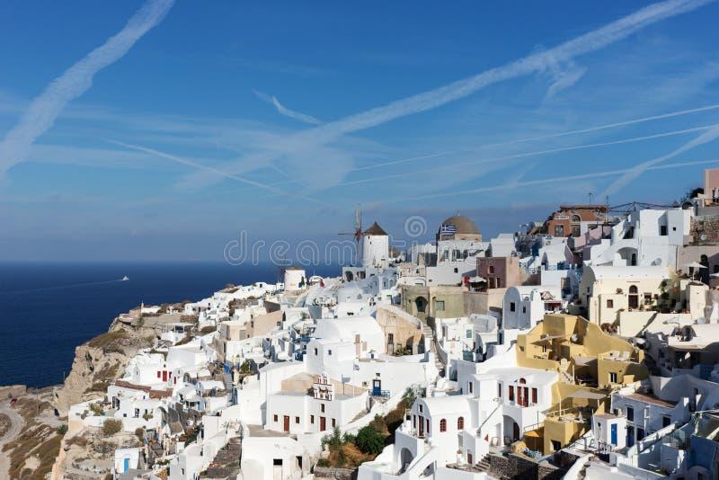 Download Alte Stadt Von Oia Auf Der Insel Santorini Stockbild - Bild von sonnig, meer: 106801307