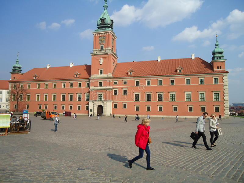 Alte Stadt Warschau stockfotografie