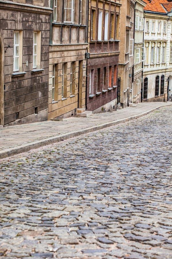 Alte Stadt in Warschau, Polen. stockbilder
