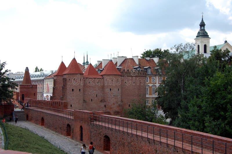 Alte Stadt in Warschau, Polen lizenzfreie stockbilder