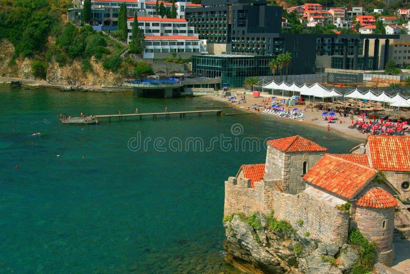 Alte StadtBudva Republik Montenegro lizenzfreie stockfotografie