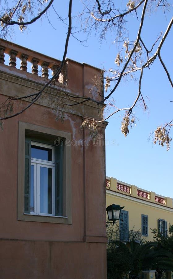 Alte Stadtfarben Stockbilder