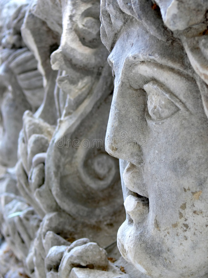 Alte Statue stockfotos