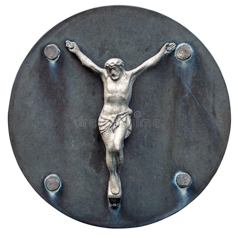 Download Alte Statue Von Jesus Crucified Stockbild - Bild von sonderkommando, katholisch: 26374437