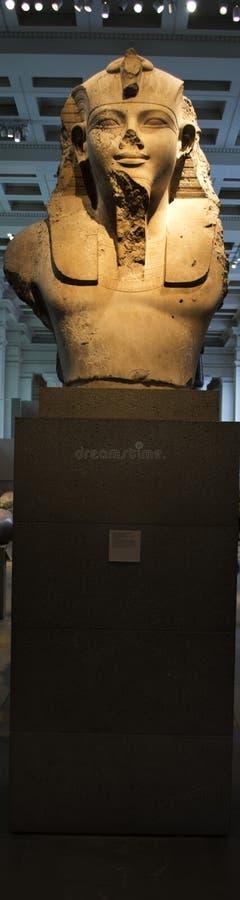 Alte Statuen Ägyptens stockbilder