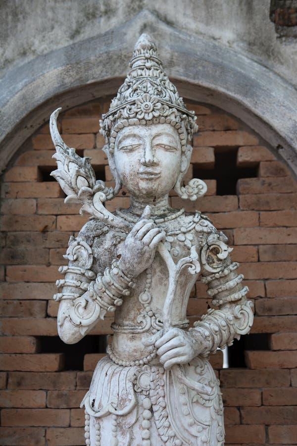Alte Statuen von Engeln lizenzfreies stockbild