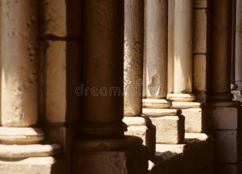 Alte Steinpfosten stockbilder