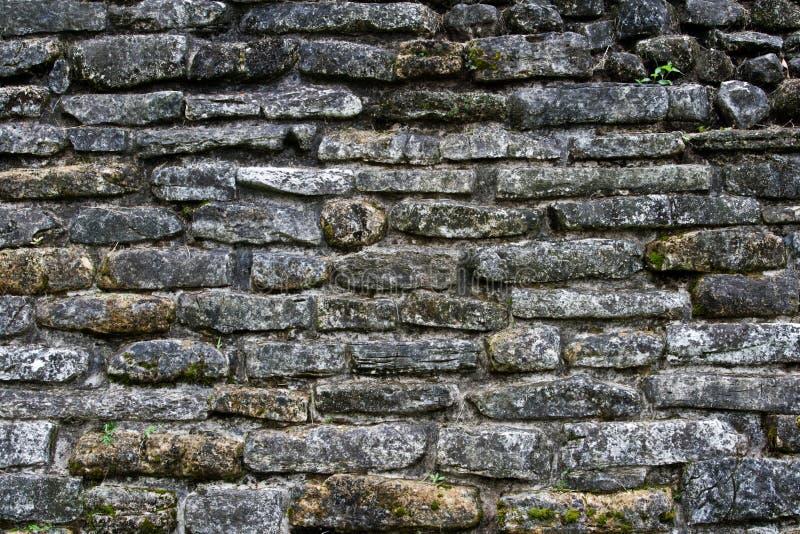 Alte Steinwandbeschaffenheit stockfotos