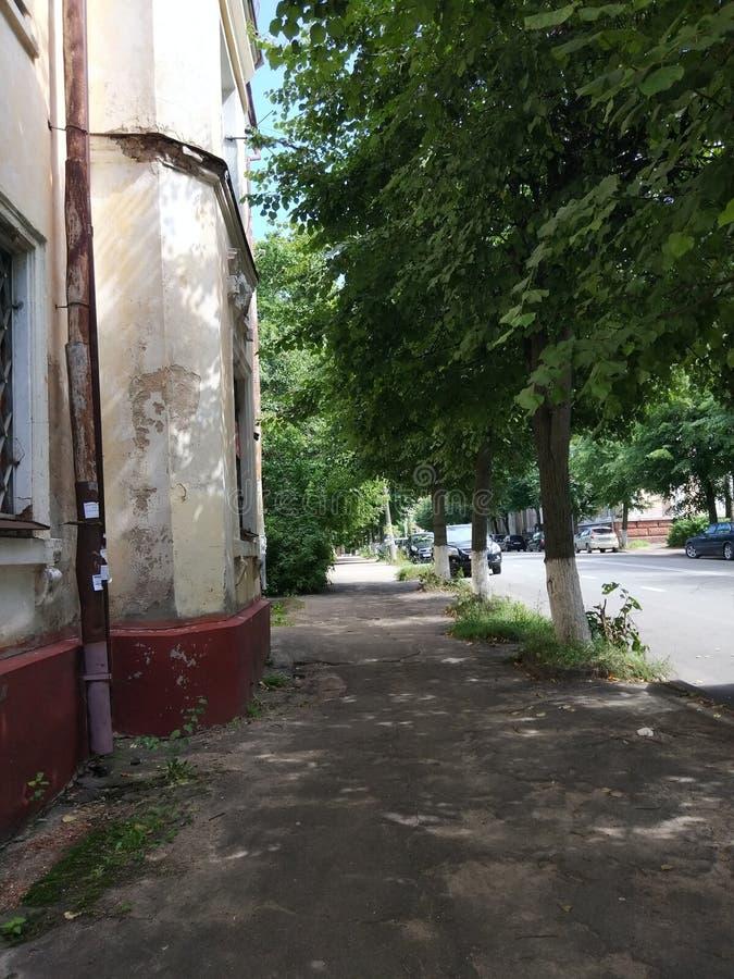 Alte Straße stockbild