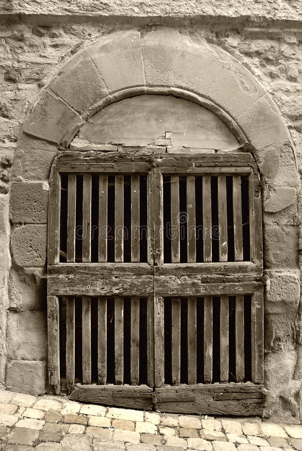 Download Alte Tür stockfoto. Bild von weinlese, haus, überraschen - 27735326