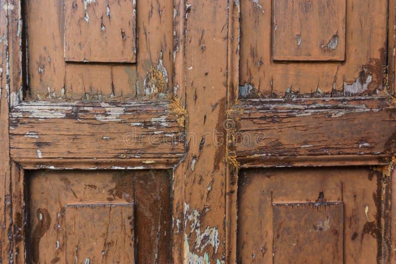 Alte Tür als Hintergrund stockfotografie