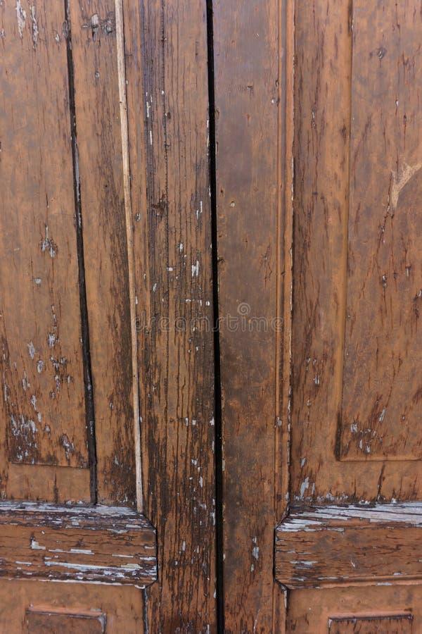 Alte Tür als Hintergrund stockbild