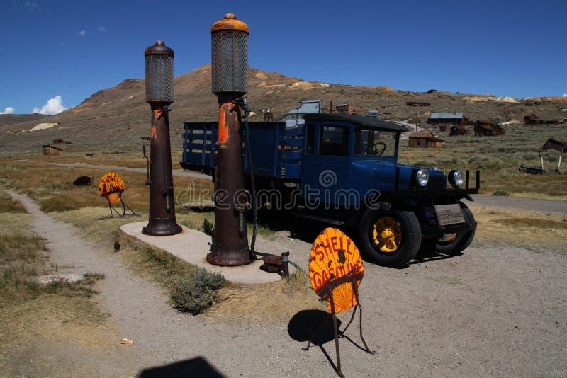Alte Tankstelle 3 lizenzfreies stockfoto