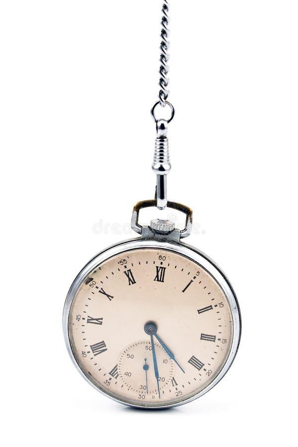 Antike taschenuhr mit kette  Alte Taschenuhr Mit Kette Lizenzfreie Stockfotos - Bild: 29600928