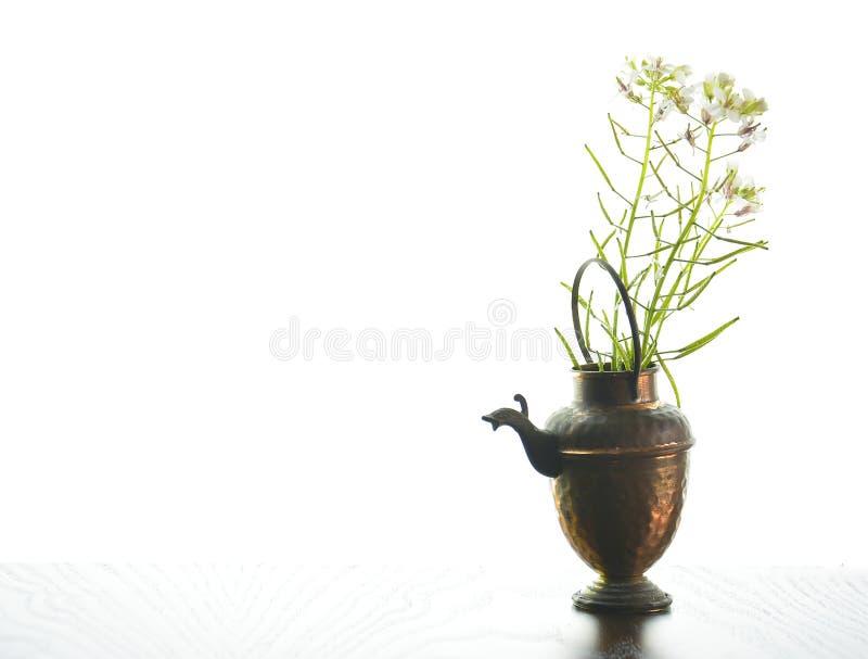 Alte Teekanne lizenzfreies stockfoto