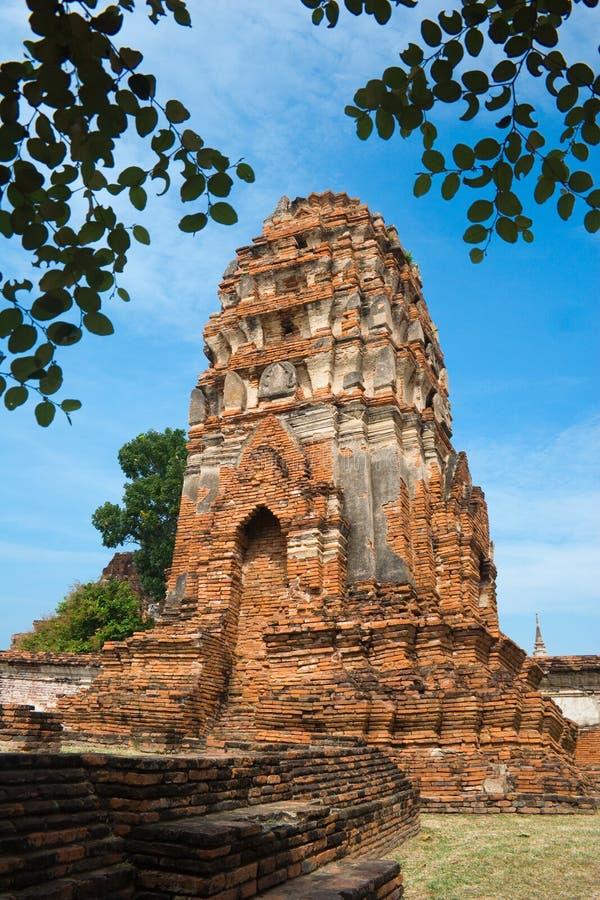 Alte Tempel-Ruinen lizenzfreies stockbild