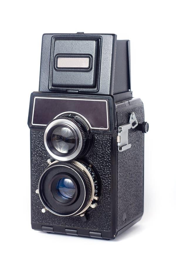 Alte TLR Kamera stockfotos
