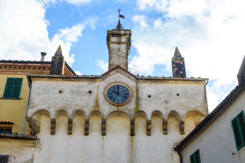 Alte toskanische Architektur stockbild