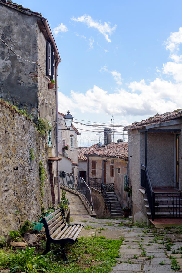 Alte toskanische Architektur stockfotos