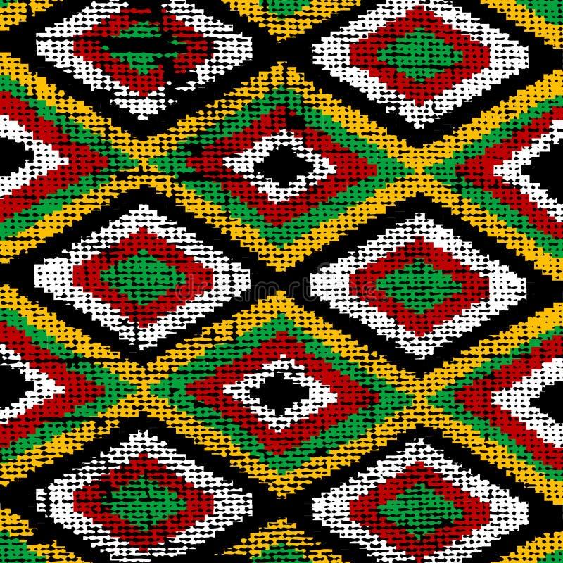 Alte traditionelle Wolldecke lizenzfreie abbildung