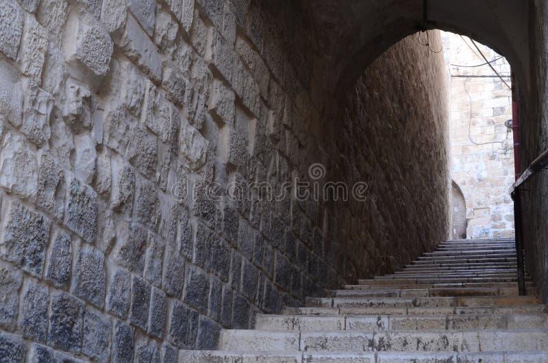 Alte Treppe Lizenzfreie Stockfotografie