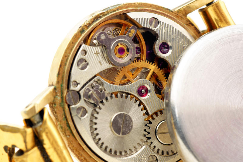 Alte Uhren. lizenzfreie stockbilder