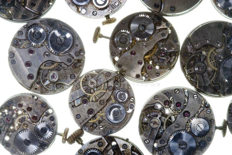 Alte Uhren stockfoto