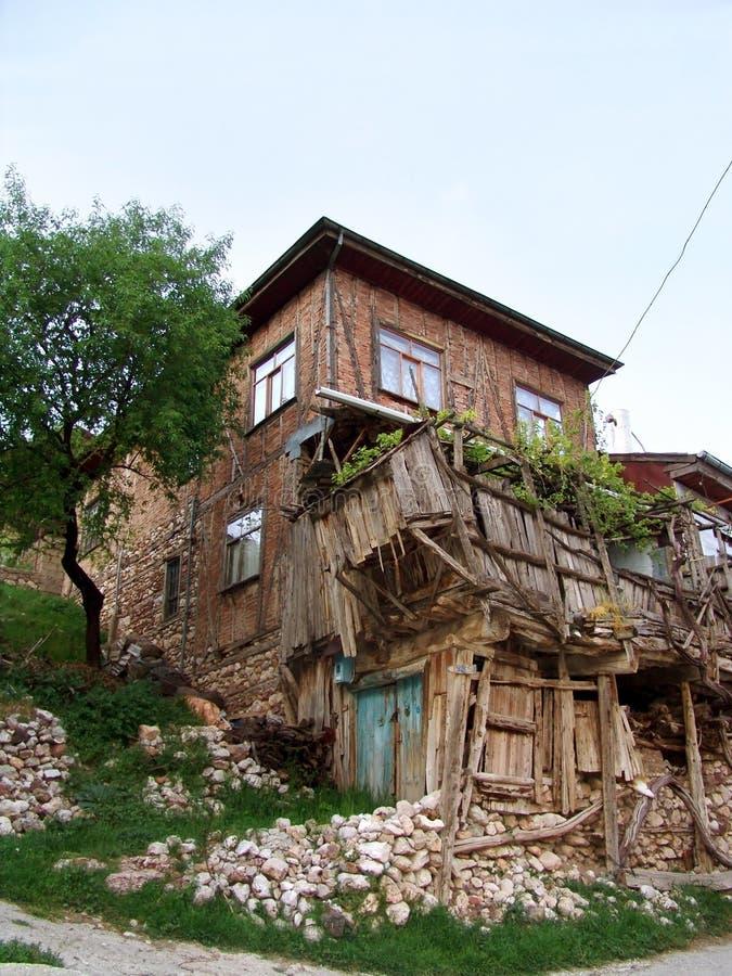 Alte und unterbrochene Häuser lizenzfreies stockfoto
