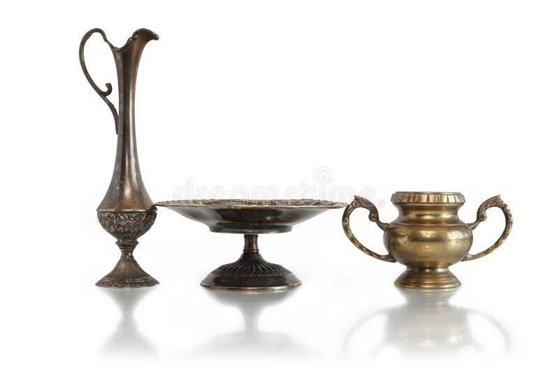 Alte Vasen stockbilder