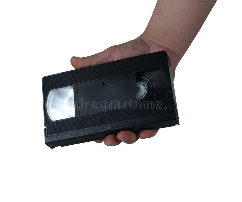 Alte VHS-Kassette stockfoto