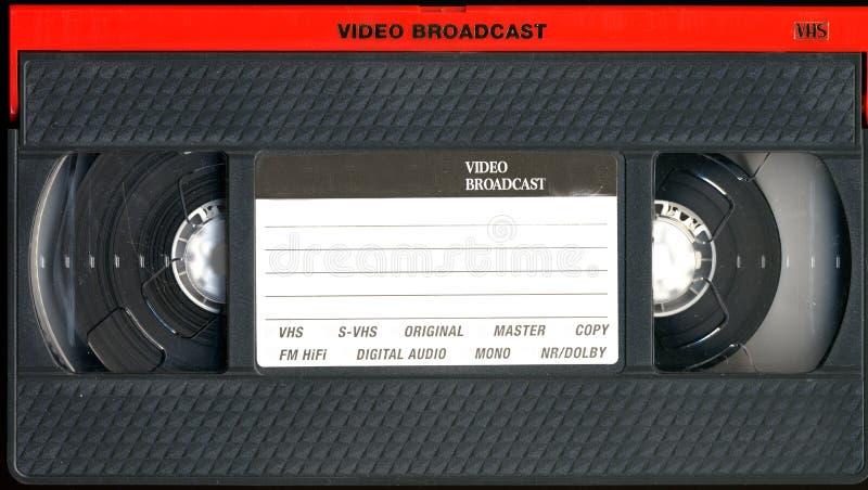 Alte VHS-Kassette lizenzfreie stockbilder