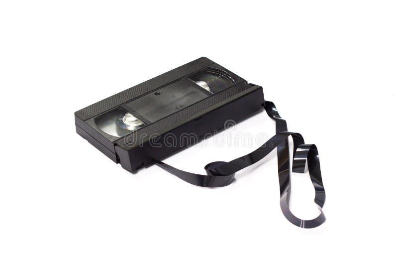 Alte VHS-Retro- Videokassette stockbilder