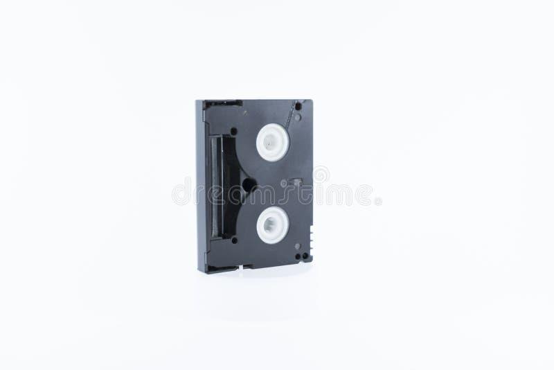 Alte Videokassette auf weißem Hintergrund lizenzfreie stockfotografie