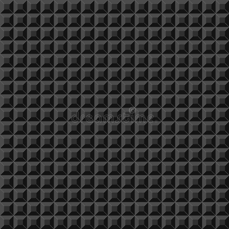 Alte Videospielquadratschablone Ziegelsteinstück-Spielhintergrund Auch im corel abgehobenen Betrag stock abbildung