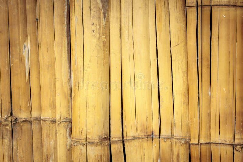 Alte Wand von gebunden herauf hölzerne Planken. stockfoto