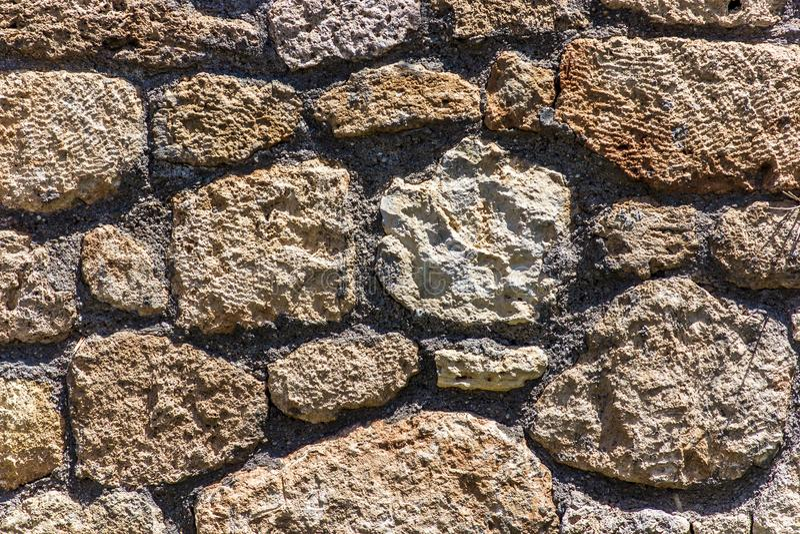 Alte Wandbeschaffenheitshintergrundbraun colo Nahaufnahme stockbilder