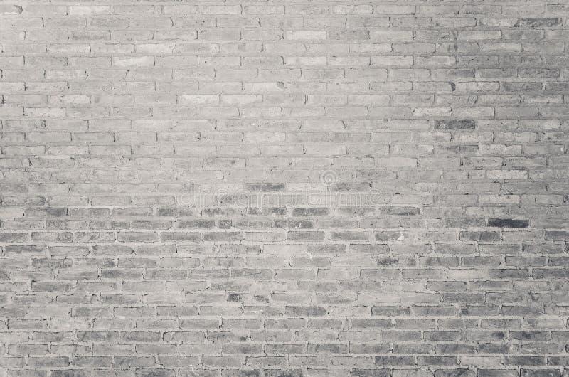 Alte weiße Backsteinmauerbeschaffenheit als Hintergrund lizenzfreie stockfotos