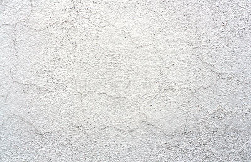 Alte weiße gebrochene Wand-Hintergrund-Stuck-Beschaffenheit stockfotos