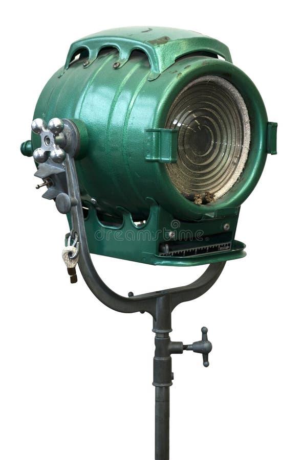 Alte Weinlese-Portrait-Studio-Leuchte-Lampe stockfotografie