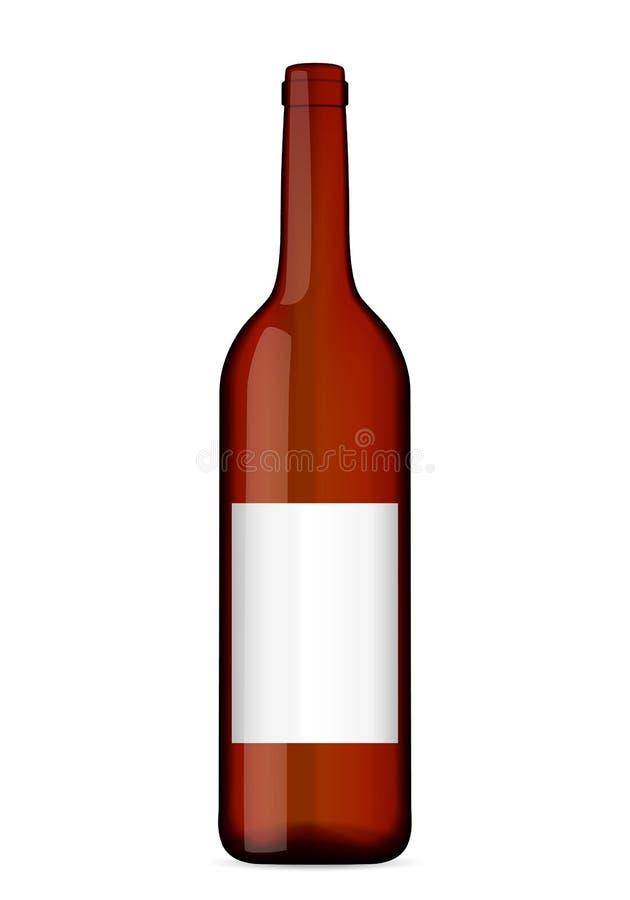 Alte Weinzahnstange lizenzfreie abbildung
