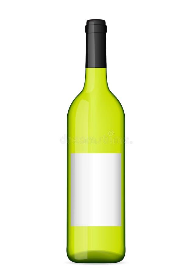 Alte Weinzahnstange stock abbildung