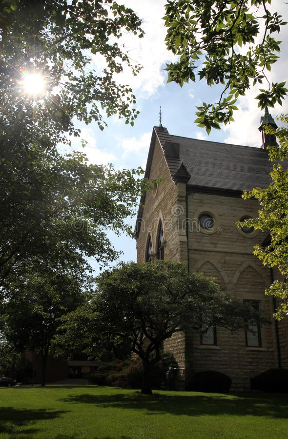 Alte Wisconsin-Kirche lizenzfreie stockfotografie