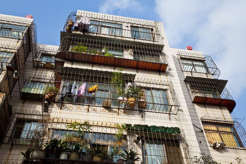 Download Alte Wohnungen in China stockfoto. Bild von wohn, historisch - 27733094